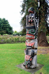 BC totem pole in New Zealand